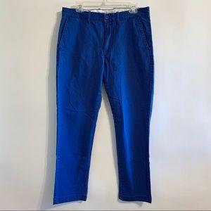 J. Crew 33x32 Sutton Style Broken-In Chino Pants
